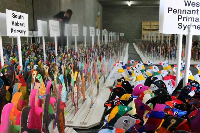 Festival Nam Cực cuốn hút các em nhỏ ở Australia - Ảnh 1.