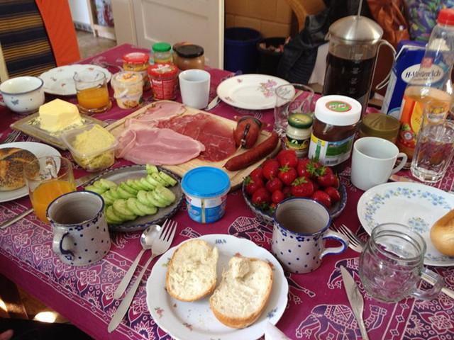 Những bữa sáng ngon miệng vòng quanh thế giới - Ảnh 7.
