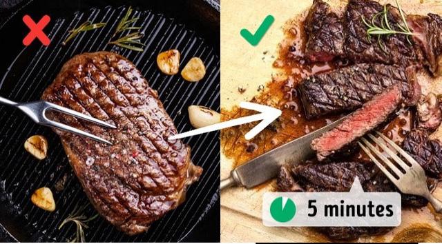 Những sai lầm phổ biến khi nấu nướng có thể làm hỏng món ăn - Ảnh 8.