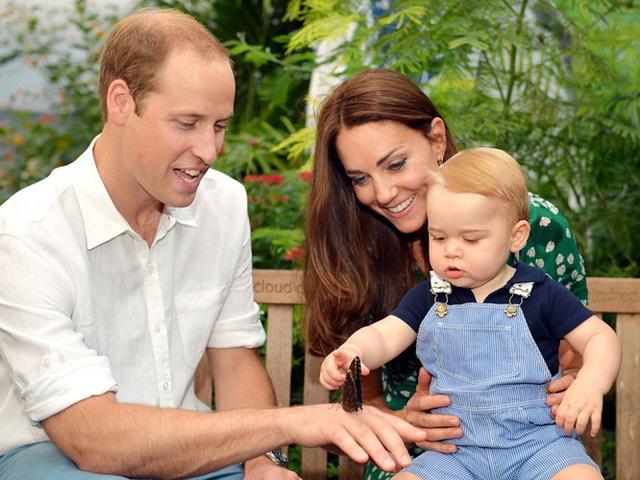 Những khoảnh khắc tuyệt vời của cha con hoàng tử William - Ảnh 13.