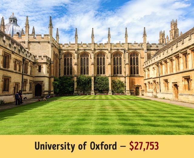Mức học phí của các trường đại học hàng đầu thế giới - Ảnh 4.