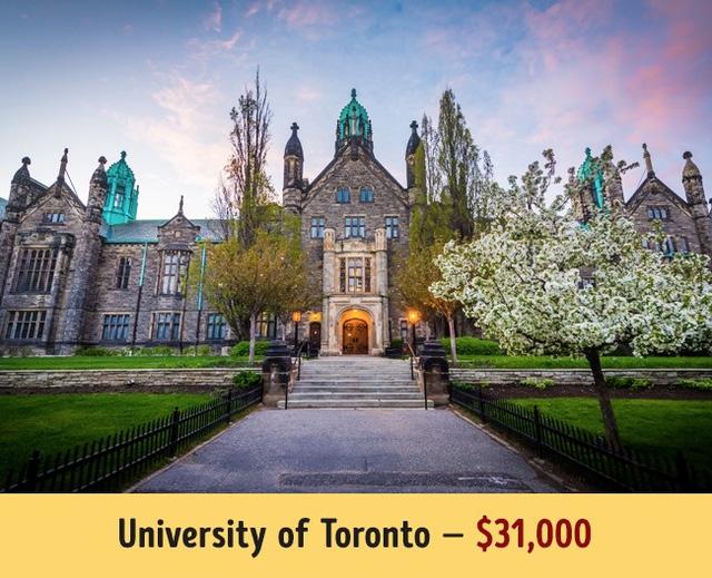 Mức học phí của các trường đại học hàng đầu thế giới - Ảnh 6.