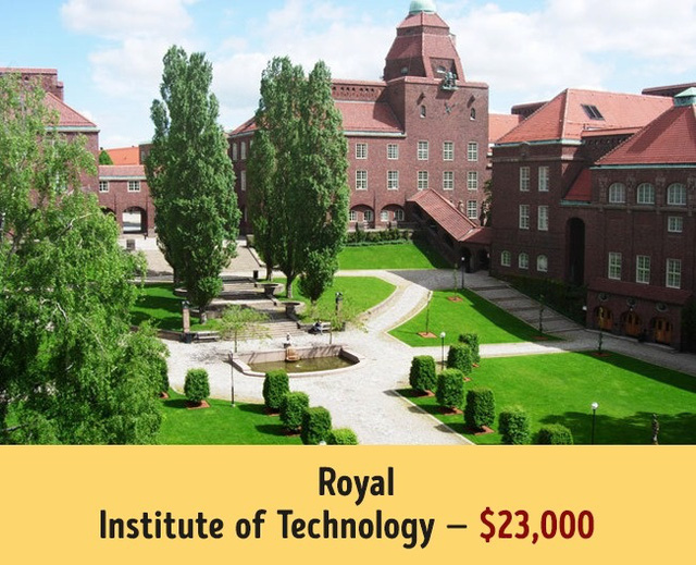 Mức học phí của các trường đại học hàng đầu thế giới - Ảnh 7.