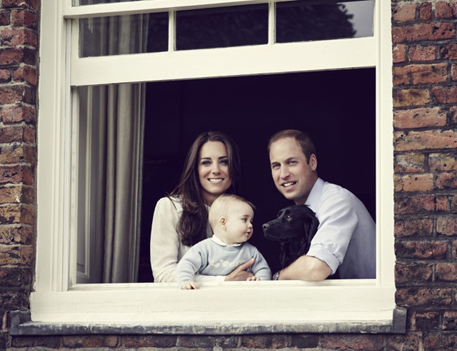 Những khoảnh khắc tuyệt vời của cha con hoàng tử William - Ảnh 8.
