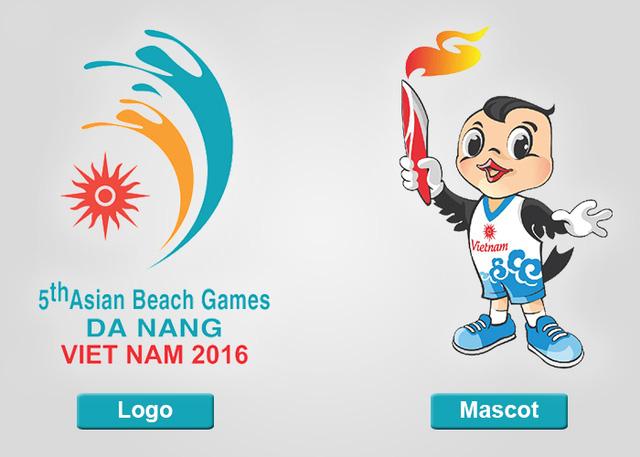 ABG 2016: Ý nghĩa của logo và linh vật Đại hội thể thao bãi biển châu Á lần thứ 5 - Ảnh 1.