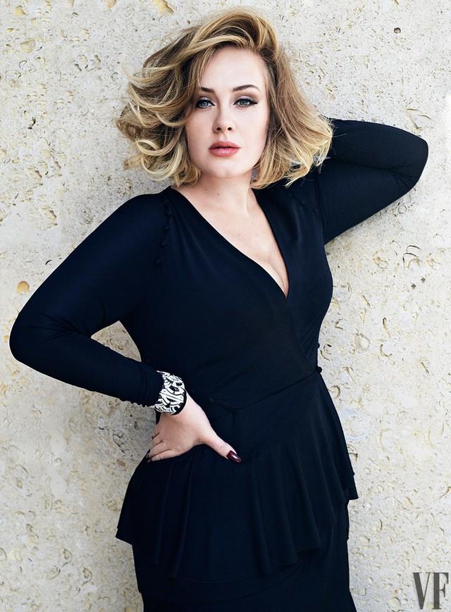 Adele khoe vẻ mặn mà trên tạp chí Vanity Fair - Ảnh 8.