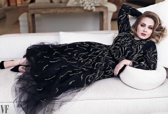 Adele khoe vẻ mặn mà trên tạp chí Vanity Fair - Ảnh 4.