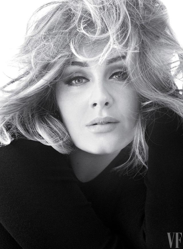 Adele khoe vẻ mặn mà trên tạp chí Vanity Fair - Ảnh 3.