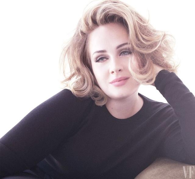 Adele khoe vẻ mặn mà trên tạp chí Vanity Fair - Ảnh 2.