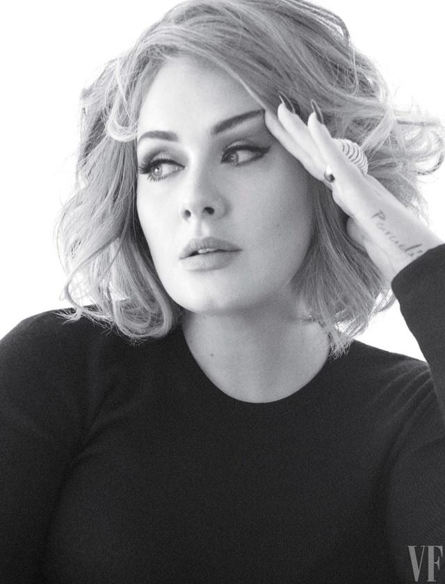 Adele khoe vẻ mặn mà trên tạp chí Vanity Fair - Ảnh 5.