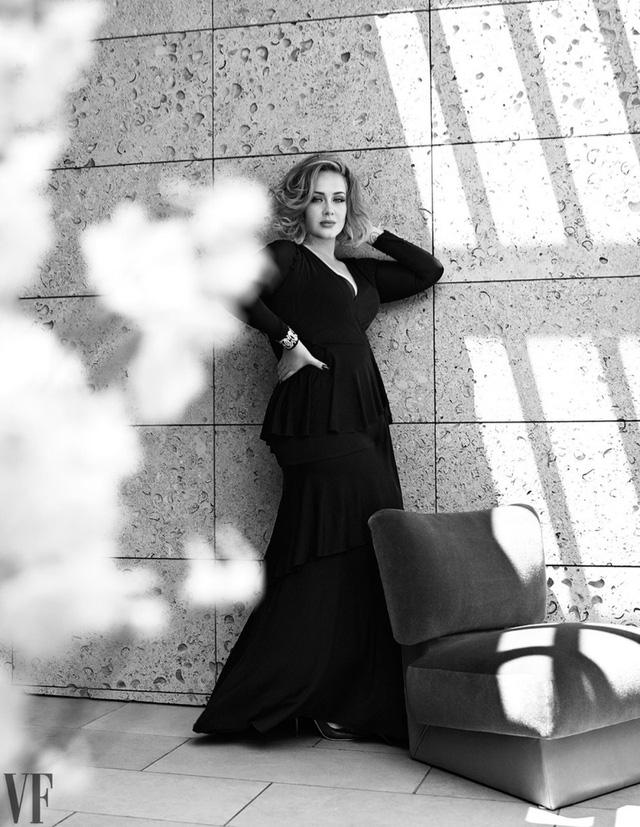 Adele khoe vẻ mặn mà trên tạp chí Vanity Fair - Ảnh 6.
