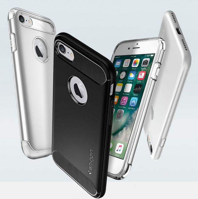 Chưa ra mắt, iPhone 7 và iPhone 7 Plus đã có ốp mới - Ảnh 1.