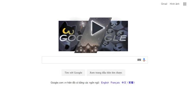 Chào Halloween 2016 với doodle mới của Google - Ảnh 1.
