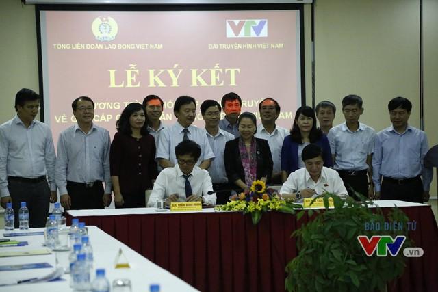 Tăng cường tuyên truyền hoạt động Công đoàn trên sóng VTV - Ảnh 1.