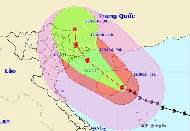 Đêm nay (18/10), dự báo Quảng Ninh có mưa to đến rất to - Ảnh 1.