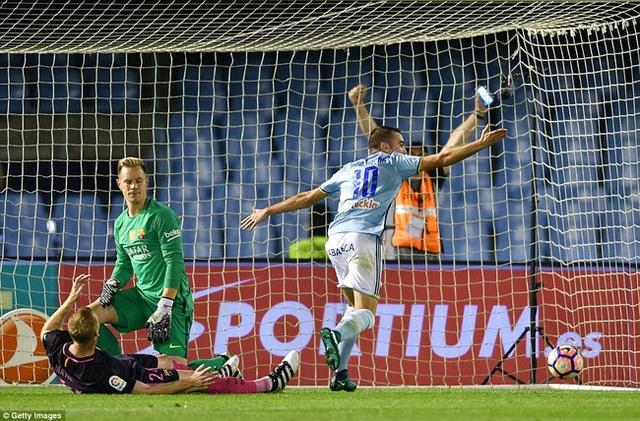 Celta Vigo 4-3 Barcelona: Barca thua sốc Celta Vigo - Ảnh 2.