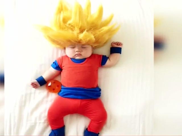 Bé 4 tháng tuổi được hóa trang thành những nhân vật siêu dễ thương - Ảnh 3.