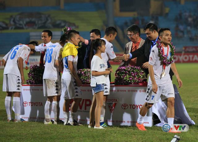 Ảnh: Hà Nội T&T vô địch V.League 2016 sau cuộc đua nghẹt thở với Hải Phòng - Ảnh 8.