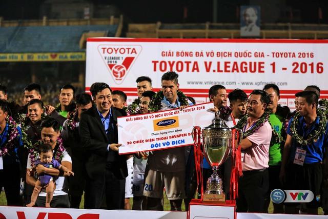 Ảnh: Hà Nội T&T vô địch V.League 2016 sau cuộc đua nghẹt thở với Hải Phòng - Ảnh 9.