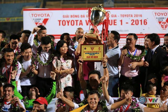 Ảnh: Hà Nội T&T vô địch V.League 2016 sau cuộc đua nghẹt thở với Hải Phòng - Ảnh 12.