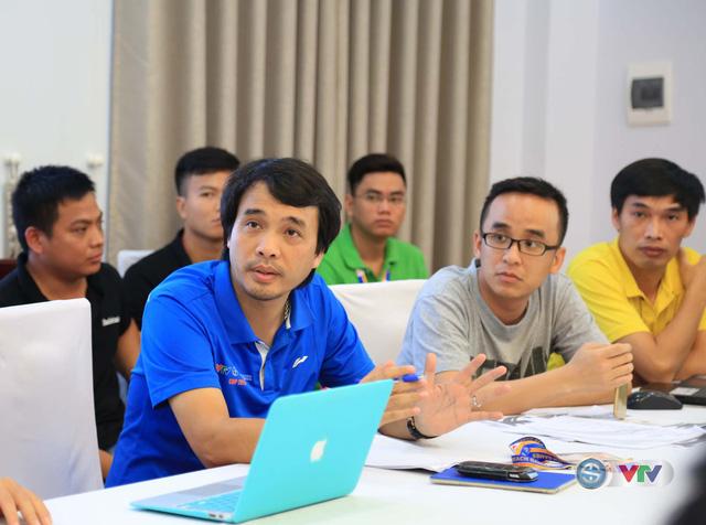 Đài THVN họp sản xuất về việc hiển thị đồ hoạ khi sản xuất chương trình tại ABG5 - Ảnh 2.