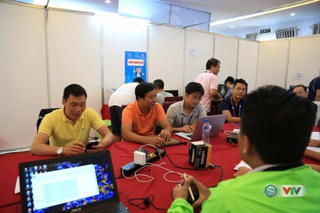 Đài THVN họp sản xuất về việc hiển thị đồ hoạ khi sản xuất chương trình tại ABG5 - Ảnh 3.
