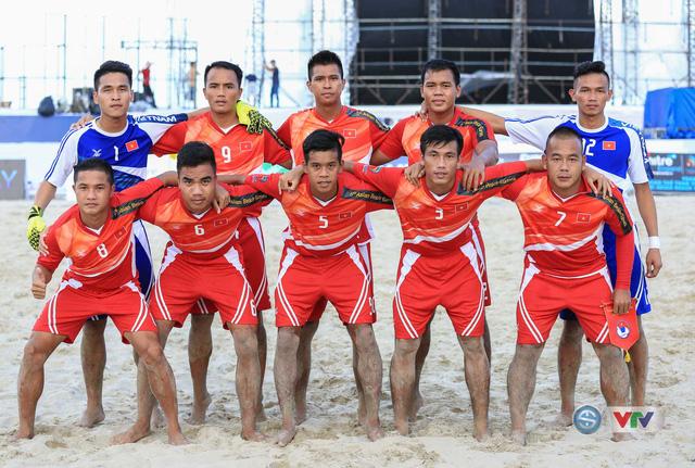 Ảnh: ĐT bóng đá bãi biển Việt Nam thắng ấn tượng trước ĐT Lào - Ảnh 1.