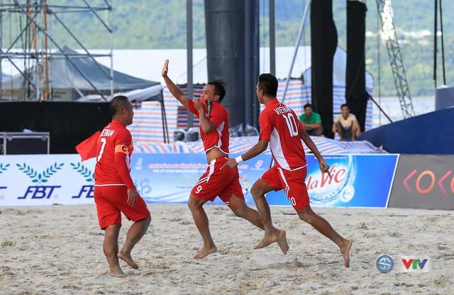 Ảnh: ĐT bóng đá bãi biển Việt Nam thắng ấn tượng trước ĐT Lào - Ảnh 2.