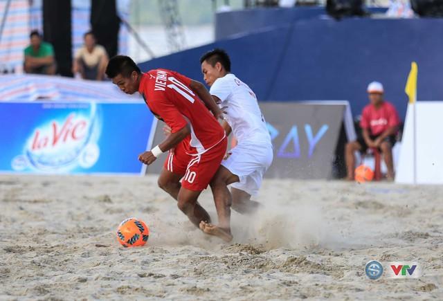Ảnh: ĐT bóng đá bãi biển Việt Nam thắng ấn tượng trước ĐT Lào - Ảnh 10.