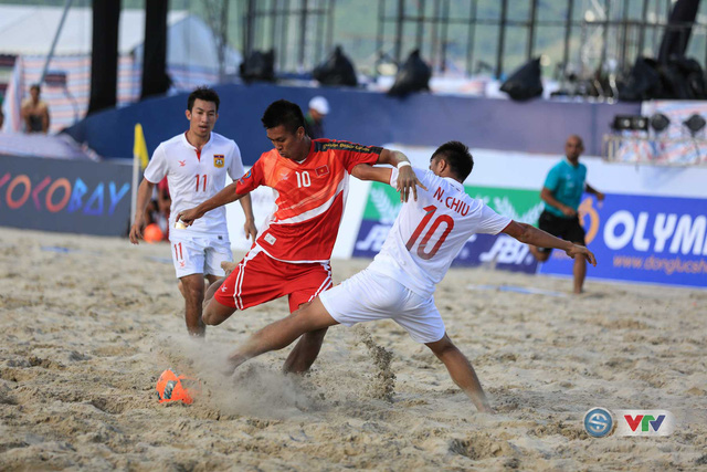 Ảnh: ĐT bóng đá bãi biển Việt Nam thắng ấn tượng trước ĐT Lào - Ảnh 9.