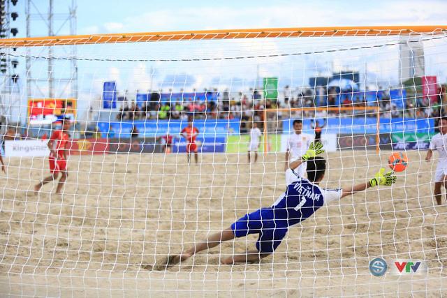 Ảnh: ĐT bóng đá bãi biển Việt Nam thắng ấn tượng trước ĐT Lào - Ảnh 6.