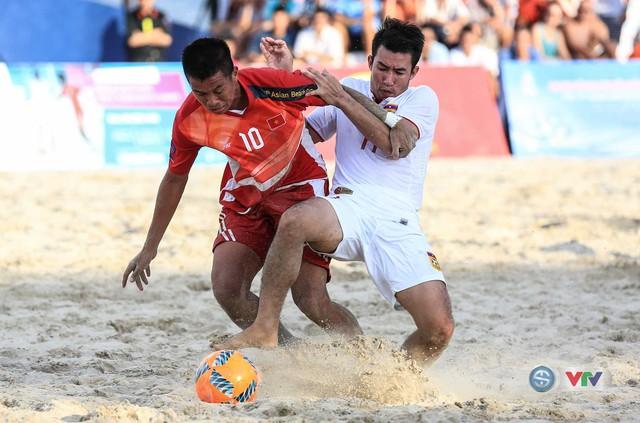 Ảnh: ĐT bóng đá bãi biển Việt Nam thắng ấn tượng trước ĐT Lào - Ảnh 4.