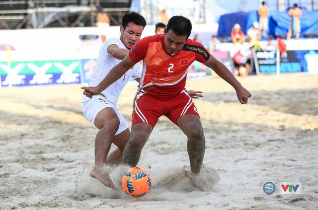 Ảnh: ĐT bóng đá bãi biển Việt Nam thắng ấn tượng trước ĐT Lào - Ảnh 3.