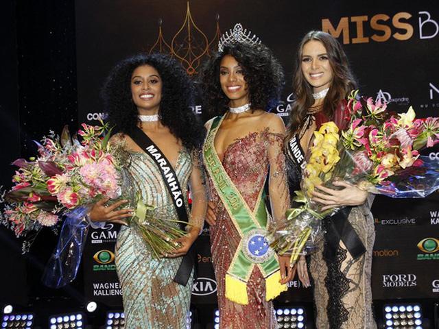 Sau 30 năm, Brazil có Hoa hậu Hoàn vũ da màu thứ hai - Ảnh 1.