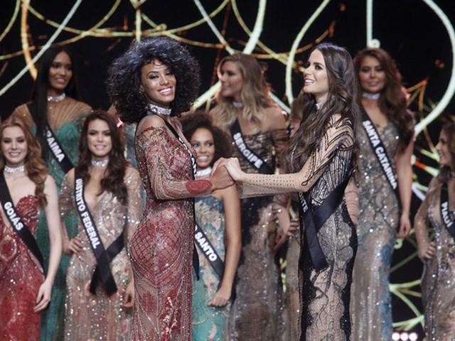 Sau 30 năm, Brazil có Hoa hậu Hoàn vũ da màu thứ hai - Ảnh 2.