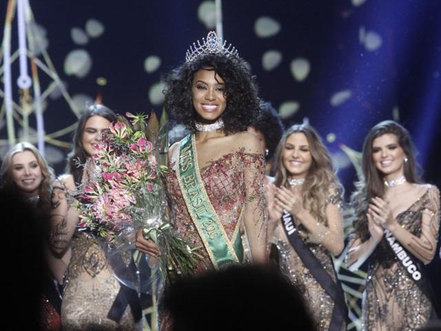 Sau 30 năm, Brazil có Hoa hậu Hoàn vũ da màu thứ hai - Ảnh 3.