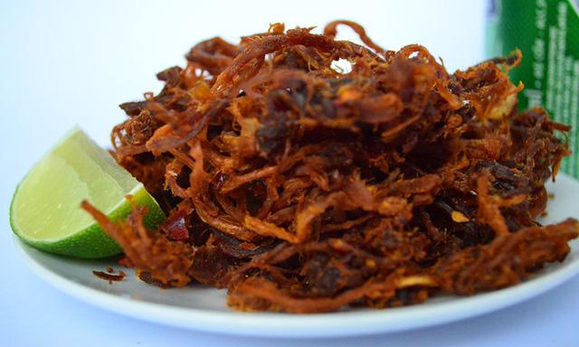 Cách làm thịt bò khô gác bếp đặc sản Tây Bắc - Ảnh 11.