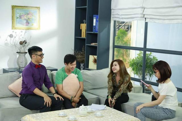 Hé lộ hình ảnh hậu trường sitcom mới Xin chào ông chủ - Ảnh 4.