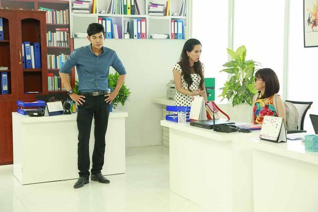 Hé lộ hình ảnh hậu trường sitcom mới Xin chào ông chủ - Ảnh 7.