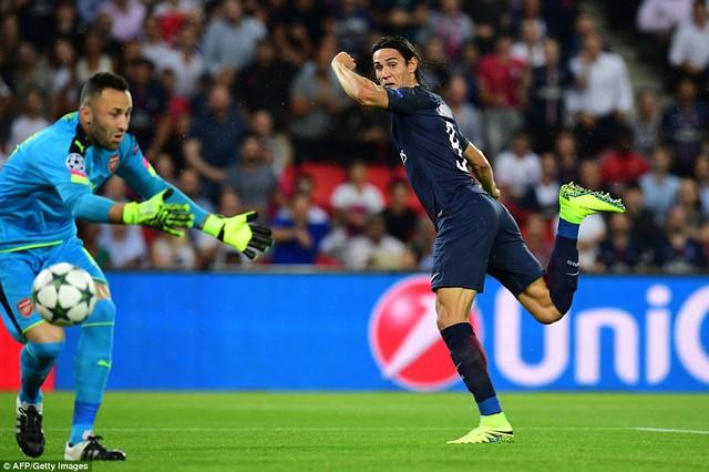 Arsenal lập kỷ lục không mong muốn trong ngày khai màn Champions League - Ảnh 1.