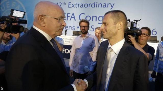 Aleksander Ceferin chính thức trở thành chủ tịch UEFA - Ảnh 1.
