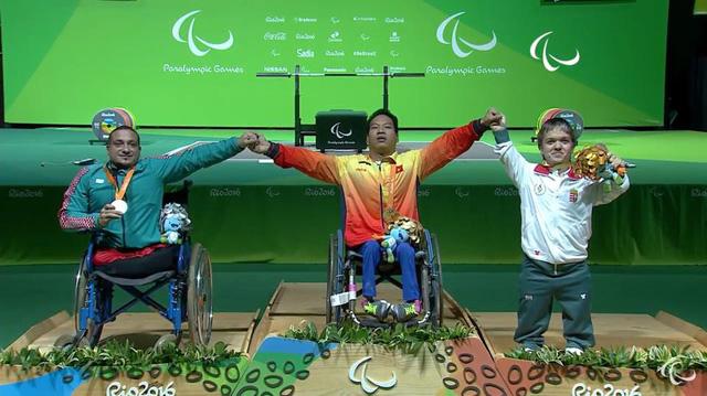 Lê Văn Công giành HCV Paralympic 2016, phá kỷ lục thế giới - Ảnh 2.