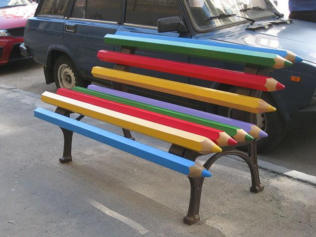 Ngắm muôn kiểu ghế ngồi siêu độc ở không gian công cộng - Ảnh 4.