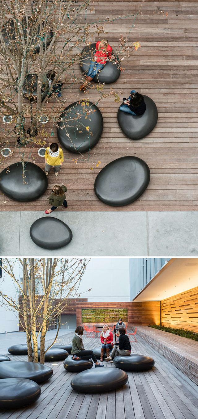 Ngắm muôn kiểu ghế ngồi siêu độc ở không gian công cộng - Ảnh 11.