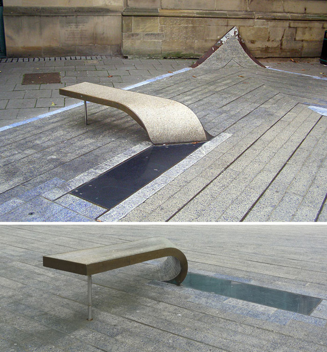 Ngắm muôn kiểu ghế ngồi siêu độc ở không gian công cộng - Ảnh 1.