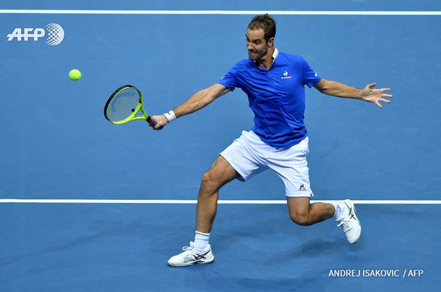 Bán kết Davis Cup: ĐT Croatia tạm hòa trước ĐT Pháp - Ảnh 1.