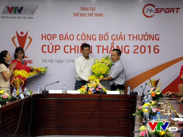 Cúp Chiến thắng 2016: Vinh danh những người làm nên lịch sử thể thao Việt Nam - Ảnh 1.