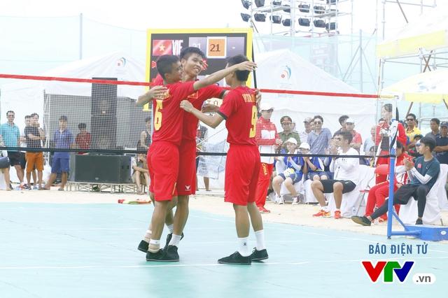 Giành 2 HCV đồng đội, ĐT đá cầu Việt Nam thống trị tuyệt đối tại ABG 5 - Ảnh 3.