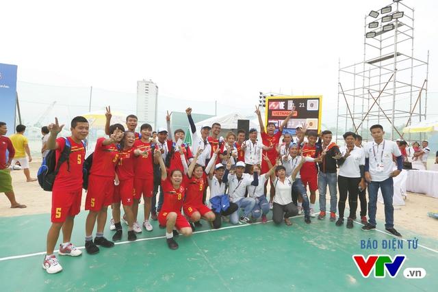 Giành 2 HCV đồng đội, ĐT đá cầu Việt Nam thống trị tuyệt đối tại ABG 5 - Ảnh 7.