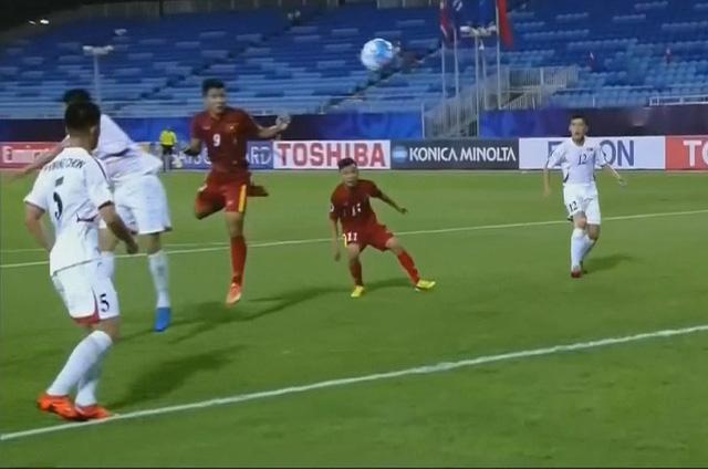 Văn Hậu lập siêu phẩm, U19 Việt Nam thắng trận ra quân - Ảnh 2.